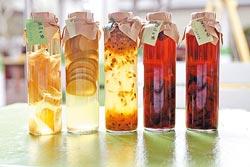 各式水果醋