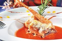 希臘經典菜色--牛肉千層