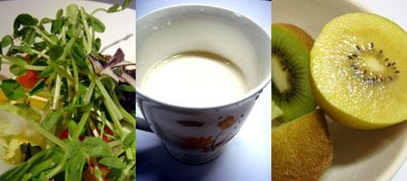 蔬菜、乳品、水果,是發育期的你每天都得攝取的營養