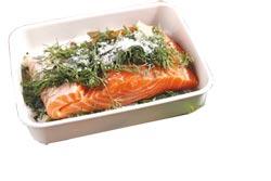 蒔蘿醃鮭魚