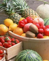 新鮮水果多含有不等的食物酵素,能幫助腸胃順利分解食物