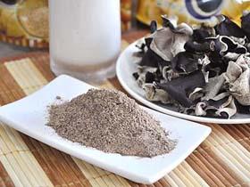 黑木耳穀粉  (圖片來源:大台灣旅遊網/羅惠文)