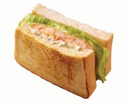 法式炸蝦三明治