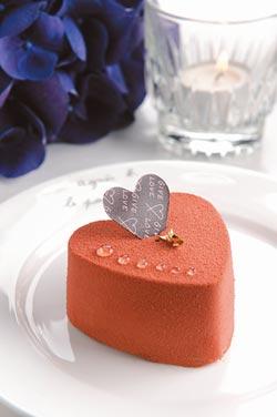 agnes b. cafe L.P.G.情人節限定商品---馬達加斯加64%巧克力蛋糕