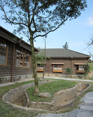 新北市市定古蹟「台陽平溪招待所」,是台灣目前少數保存完整的大規模日式建築群之一,即將完工開放。(圖片來源:新北市文化局)