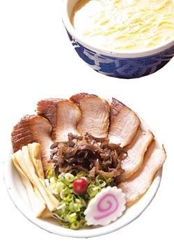 招牌豬頰肉拉麵 (圖片來源:中國時報/鄧博仁)
