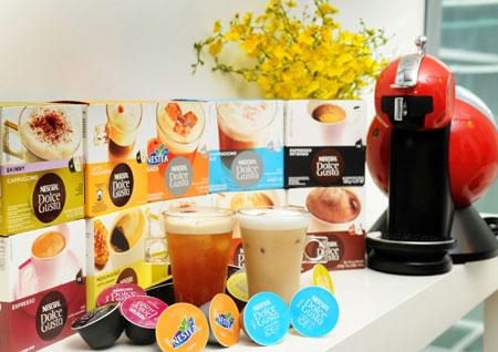 NESCAFÉ Dolce Gusto多達10種飲品選擇的多功能咖啡飲料機