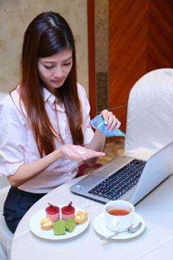 無糖口香糖是在不方便刷牙時的潔牙好幫手