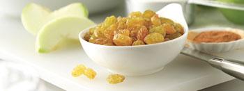 我們常推薦以水果、豆漿等食物做為點心,但葡萄乾、堅果也都是不錯的選擇。