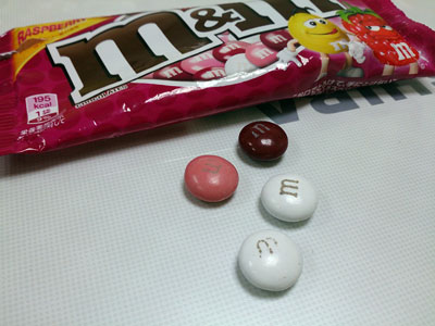 三種顏色的巧克力,其實味道都一樣