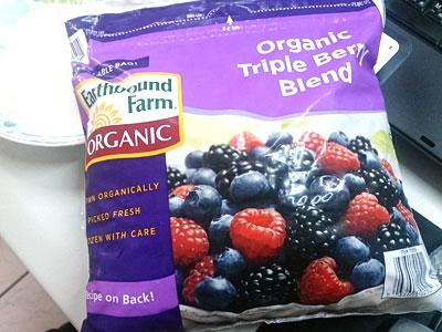 Costco必買有機三種莓果混合包