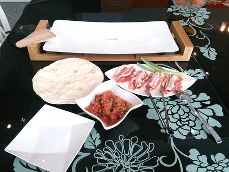 墨西哥烤肉捲餅的材料