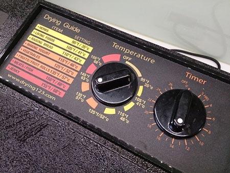 Excalibur伊卡莉柏全營養低溫乾果機的溫度建議