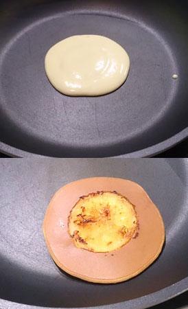 自己做橙香美式煎餅
