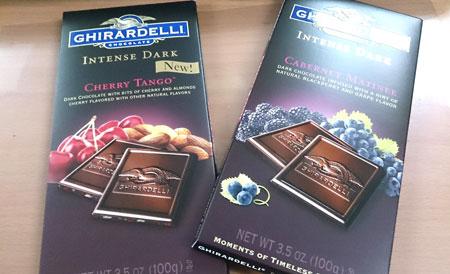 鷹牌GHIRARDELLI黑巧克力