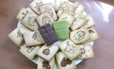 Glico格力高冰雪奇緣抹茶餅乾和巧克力餅乾