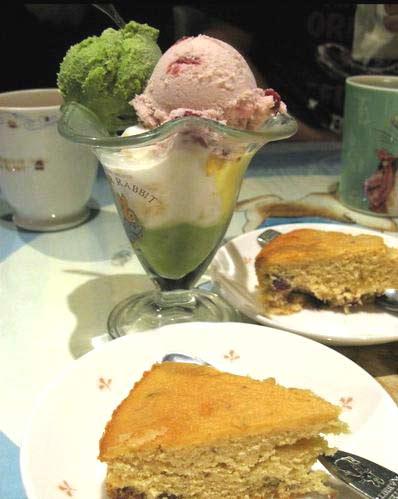 水果蛋糕/明治冰淇淋