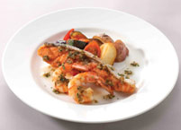 地中海香蒜羅勒鮭魚