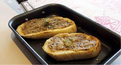 餐前麵包+風味沾醬