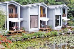 夏日入住後湖水月的水月湖Villa,水畔綠意感覺格外清爽
