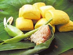 平林休閒農場的野薑花風味餐,吃得到花香與纖維,饅頭、粽子、香腸都可以宅配到府。
