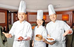 台北君悅滬悅庭,帶來正統的上海本幫菜,兼具養生和美味。