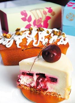 開心果蛋糕和檸檬蛋糕▲外賣櫃有各種常溫蛋糕,雖然少了華麗外型,但滋味也不錯。