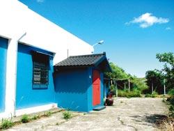 位於金瓜石山邊的「布克旅人」民宿,視野遼闊。