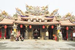 ▲新港奉天宮是大甲媽祖遶境進香的主要停留點,每年香客人數也高達百萬。攝影 陳志東