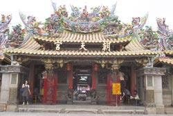 ▲北港朝天宮是台灣最重要的媽祖廟之一,每年香客人次超過600萬。攝影  陳志東