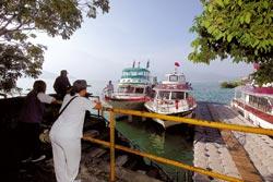 ▲國際級的建設與規畫,也帶動了遊艇業者的自我提升,日月潭的船舶、遊艇多數已整修更新。攝影  沈揮勝