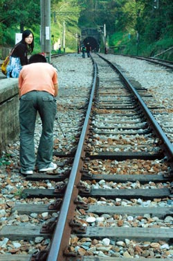 懷舊正夯▲舊山線鐵路可望明年復駛,西部鐵路最高點勝興火車站將有更方便交通。攝影  陳慶居