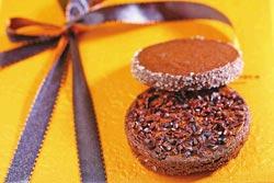 chochoco不列塔尼法式圓餅 風味醇厚。攝影  鄭夙玲