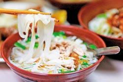 ▲新埔的美食靈魂就是粄條,來此旅遊,無論如何都要來一碗。攝影  陳志東