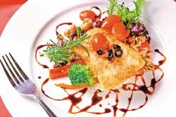 ▲瑞斯香烤橄欖鱈魚。攝影  楊為仁