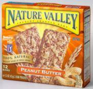 Nature Valley 天然谷纖榖派-花生奶油燕麥-6包入