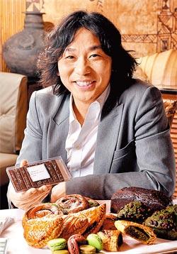 ▲青木定治全球第9家分店即將開在台北BELLVITA,40餘項甜點全員到齊。攝影  王英豪