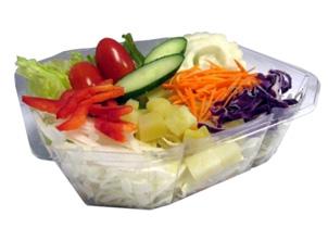 一盒「十療養身沙拉」,能提供每人半日所需的蔬菜攝取量。