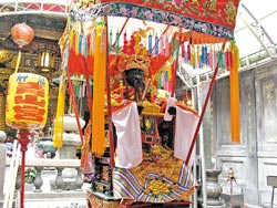 ▲每年農曆10月20至23日青山王祭,是萬華一年中最熱鬧的日子。攝影  王瑞瑤