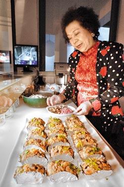▲杜媽媽說:「我就是愛做菜,有人愛吃我就很開心」。攝影  陳志東