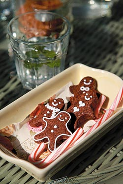 ▲100號牧場的餅乾,由學烘培的老闆娘koko手工製作,造形可愛。攝影  陳志東