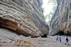 大地谷峽谷▲大地谷擁有壯觀的峽谷地形。攝影  陳志東