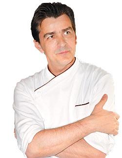 ▲米其林三星主廚Yannick Alleno曾經拿下法國最性感廚師的網路票選第一名,他的餐廳將於明年進駐台北。攝影  高政全