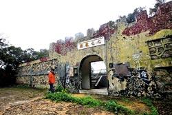 ▲馬祖昔稱戰地,處處可見軍事景觀,像是新開放的七七據點,具有神秘感。攝影  陳信翰