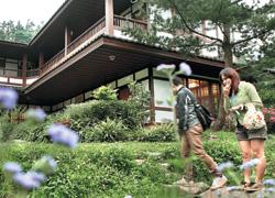▲很有日式禪風味道的建築,和周圍自然環境搭配得剛剛好。攝影  姚志平