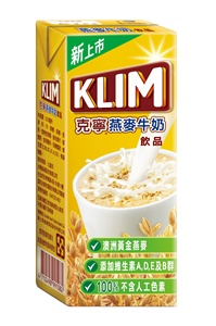 克寧燕麥牛奶飲品利樂包裝  方便好喝 天天喝