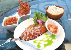 廣興農場非假日提供台灣鯛套餐,每次來都可吃到不同烹調方式。黃國書/攝影