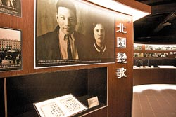 大溪遊客中心裡有著很多蔣經國文物,年輕的蔣經國,某些角度看起來也很型男。■陳志東/攝影