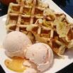 冰與火戀曲:香橙冰淇淋鬆餅